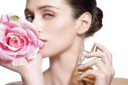 Girl-with-rose-and-perfume