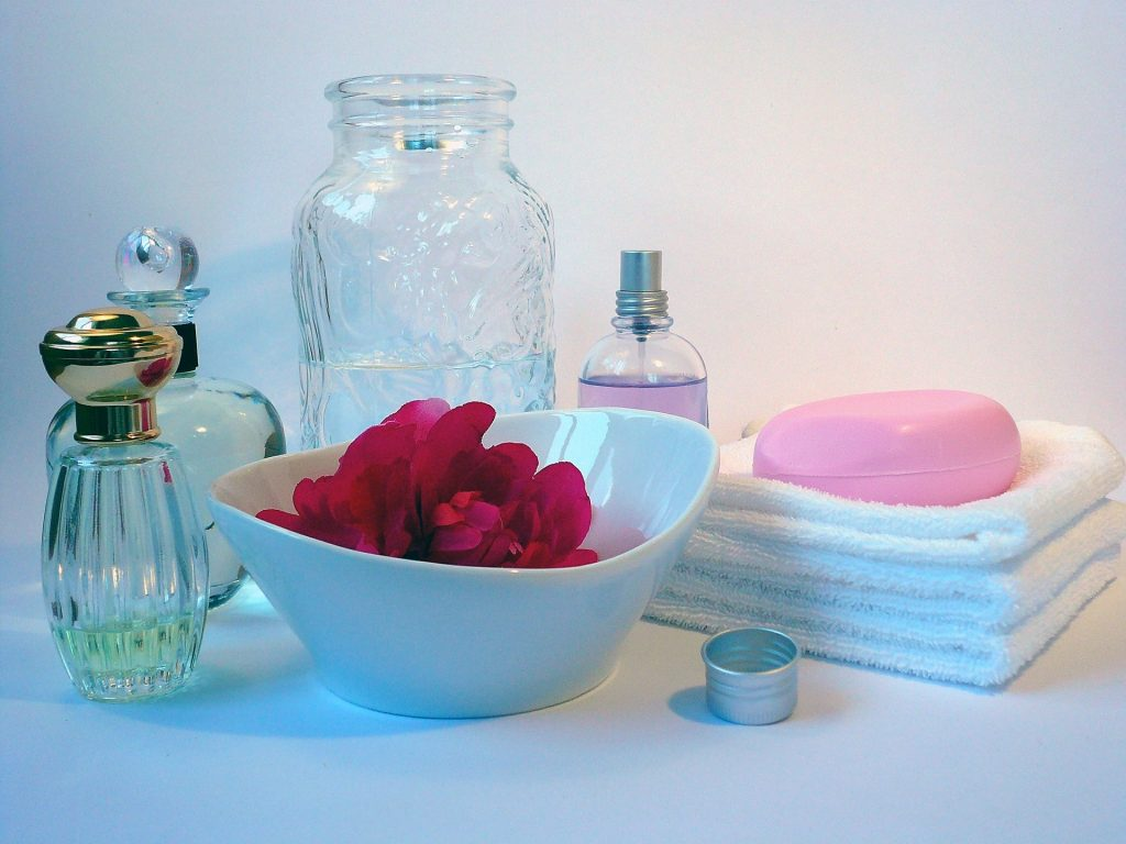 soap and perfume