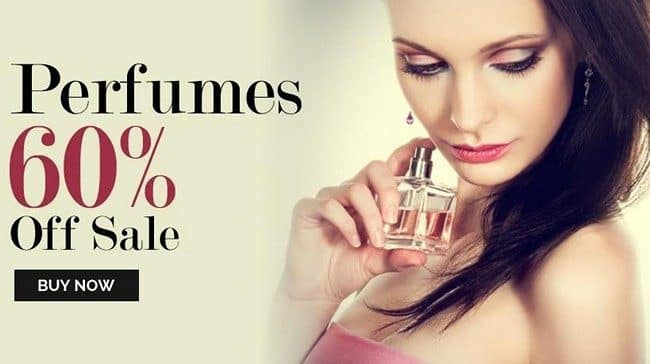Perfumes on sale